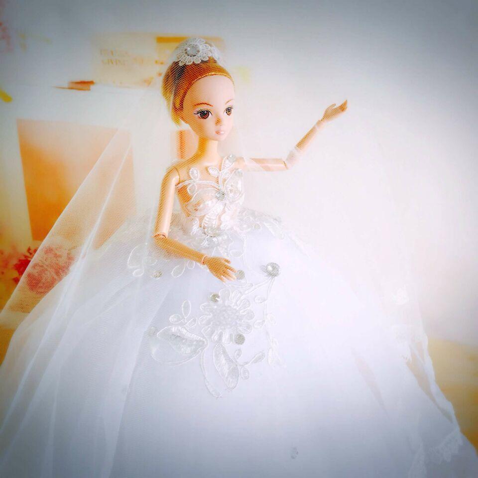 婚纱芭比娃娃货源,支持批发一件代发