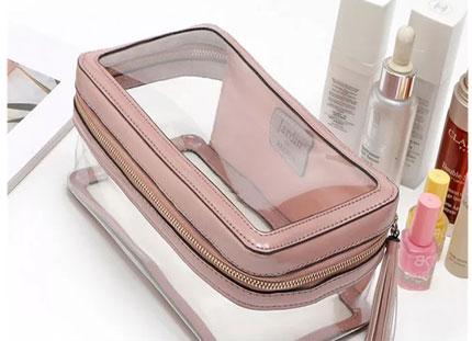新款梨花化妆包韩版透明包潮流时尚女式包包 韩国正品一件代发
